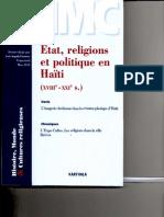 2014 Publication Laïcité Karthala Haiti
