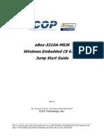 eBox-3310A Windows Embedded CE 6.00 jump start guide