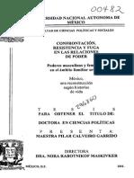 CONFRONTACION RESISTENCIA Y FUGA EBN LAS RELACIONES DE PODER
