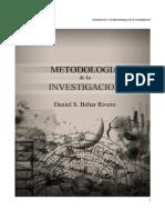 Libro Metodologia Investigacion Daniel S. Behar Rivero