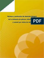 9.Normas y Protocolos de Atencion Integral de Violencia de Genero Intrafamiliar y Sexual Del Ministerio de Salud