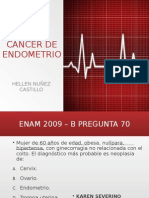 Cancer de Endometrica endometrioo