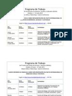 Programas de Trabajo de PIDESC