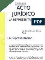 Acto Jurídico-la Representación