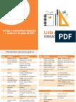 Lista de Utiles Escolares 2015