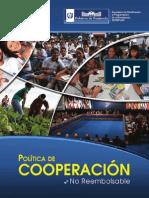 Politica de Cooperación Internacional