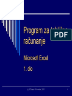 Excel Tutorijal