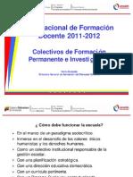 Colectivos de Formación Permanente e Investigación