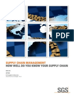 Supply Chain Management%3a How Well Do You Know Your Supply Chain%3f