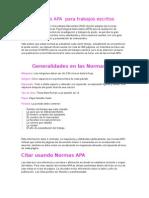 Tecnologia-Normas APA Para Trabajos Escritos