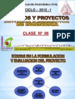 CLASE 6 ESQUEMA DE UN PROYECTO PRIVADO 2015 I.pdf