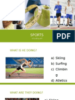 Sports Ppt Exercises