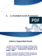 Creacion y Organizacion Del Seguro Social