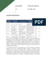 Sociedades Industriales y Postindustriales