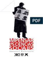 Wallerstein Inmanuel - Impensar Las Ciencias Sociales