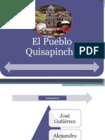 Identidad cultural del pueblo quisapincha de la ciudad de AMABATO