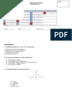 Prueba Diagnóstico II Medios