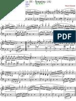 01 - Sonatina Op. 36, No. 1 - Allegro
