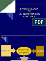 Epistemología de La Investigación1