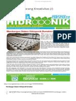 Membangun Sistem Hidroponik Rumahan.pdf