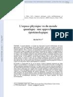 Paty_M_2006d-L'Espace Physique Vu Du Monde Quantique Une Approche Épistémologique