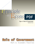 Topic 4 Role of Government