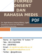 Informed Consent,Rahasia medis baru.ppt