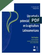 Tics en La Agricultura