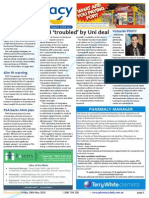 Pharmacy Daily for Fri 29 May 2015 - FSM 'troubled' by Uni deal, Symbion honours supplier partners, Allied health potential, Events Calendar and much more
