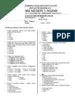 Soal Ujian Semester Genap (Xi) 203