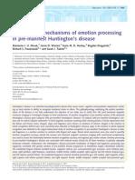 Huntinting Emotions