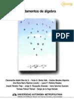 Adalid Diez de u Claramartha Fundamentos de Algebra