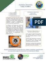 Catalogo Za-0400-10 Ventiladores Industriales