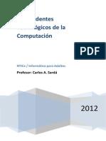 Libro 1. Antecedentes Tecnologicos 2012