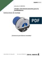 Instrucciones de Montaje Motor de Tamaño Constructivo Z MK055