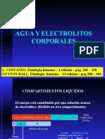 Fisiología - Agua y Electrolitos Corporales