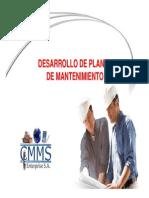 Desarrollo de Planes de Mantenimiento