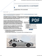 Automotive Lightweighting Applications_ the Road Ahead