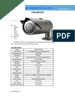 900TVL WDR Metal housing Vari-focal Weatherproof analog camera with 40M IR distance TTB-W823VK Specification-www.ttbvs.com