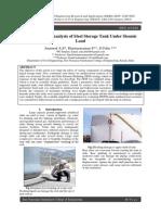 Finite Element Analysis of Steel Storage Tank Under Siesmic.pdf