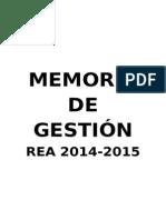 Memoria de Gestión 14-15