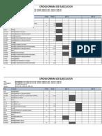 Cronograma Mantenimeinto Gimnasio Aqp