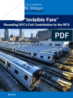 MTA Report Invisible Fare