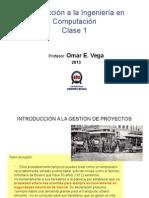 Clase 2 Proyectos Tecnologicos