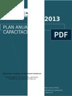 (92862614) Plan Anual Capacitacion 2013
