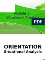 Module 3. Situational Analysis_July16