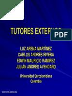 TUTORES EXTERNOS