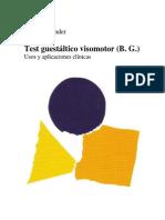 Test Guestaltico Visomotor (B.G) Usos y Aplicaciones Clinicas - Lauretta Bender