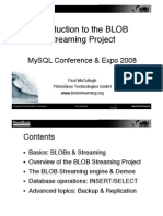 An Introduction to BLOB Streaming for MySQL Project Presentation