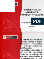 Violencia Familiar y Sexual - Rosa Botton_Min Mujer - Trujillo